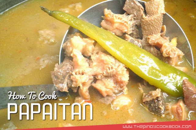 Papaitan Recipe Original How  To Cook Papaitan Easily Recipe and Tutorial Best Easy Ilocano