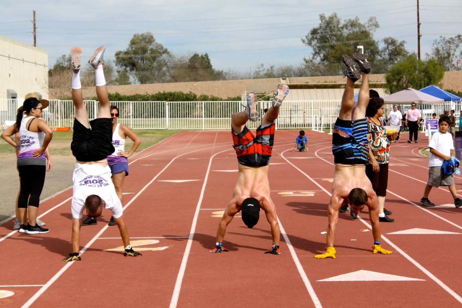 CrossFit Handstand Walk