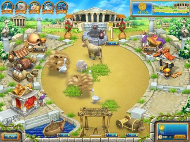 Farm Frenzy Ancient Rome PC Games