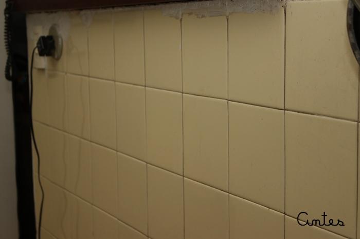 Azulejos adesivados flavia ferrari for Como colocar azulejo