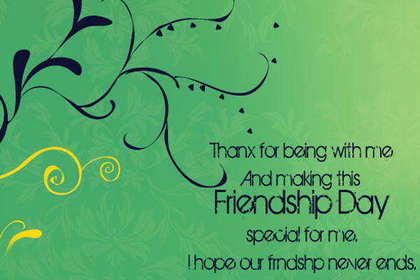 Happy Friendship Day Sms for Brother