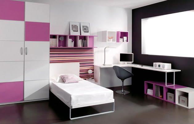 Arte y decoracion tu espacio tu estilo tu sue o - Dormitorios juveniles minimalistas ...