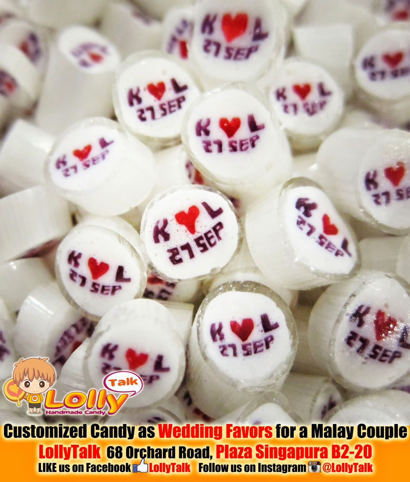 Wedding Favors with Customized Handmade Candy.... by LollyTalk ...
