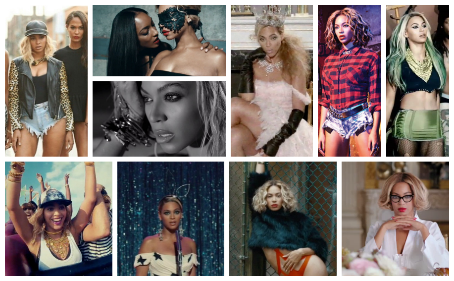 Beyonce Collage 2014