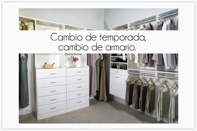 Rachel s fashion room c mo organizar el armario - Cambio de armario verano invierno ...