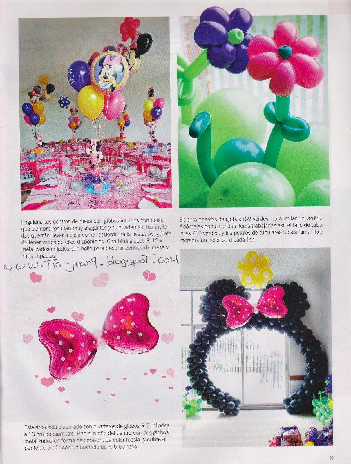 Decoracion Minnie Mouse Rosa ~   de  ? Fiestas Infantiles , ? Globos , ? Minnie Mouse