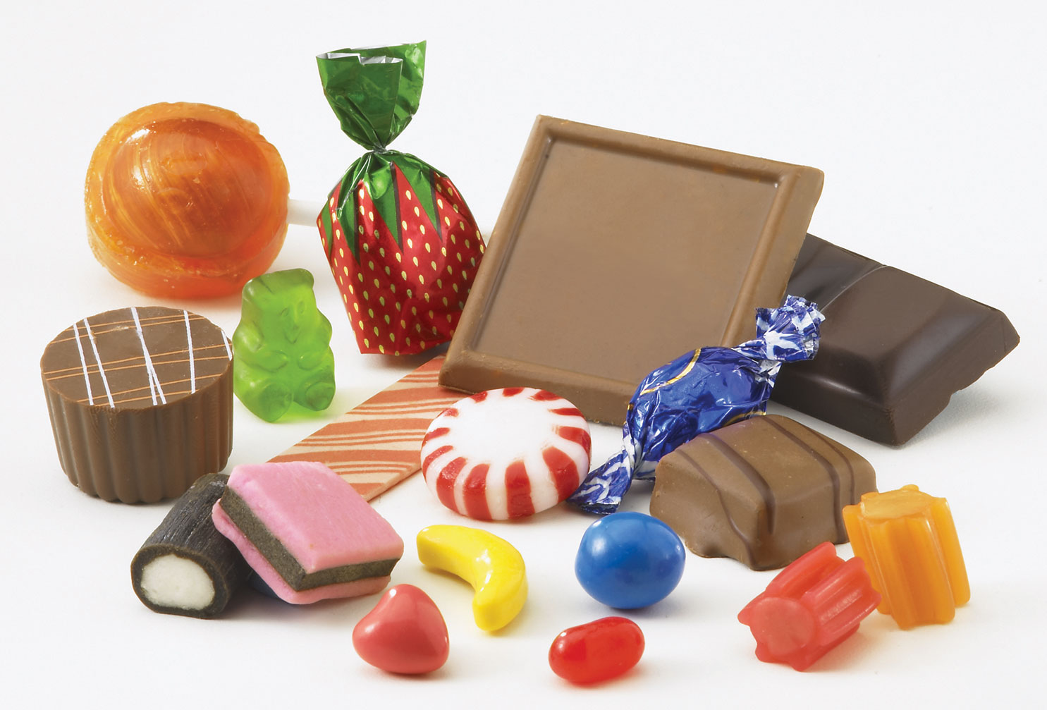Candy and chocolates make fat? Not necessarily. In fact they are the ...