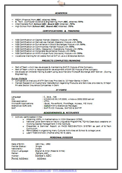 10000 CV and Resume Samples with Free Download: Professional Resume ...