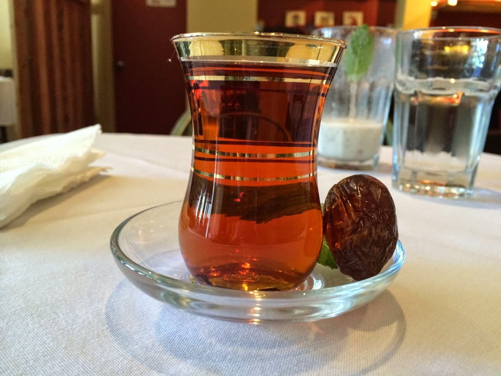 Irani Chai at Anar in San Francisco