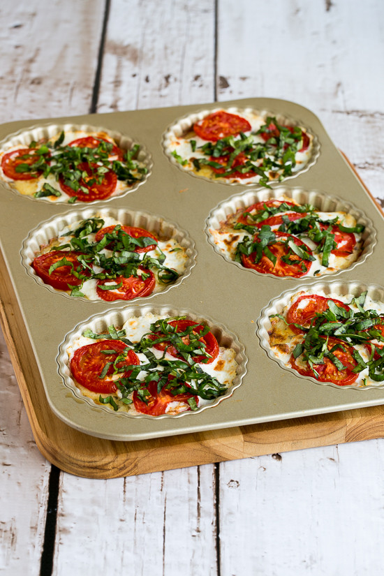 Tomato Tarts With Basil And Fresh Goat Cheese Recipe — Dishmaps