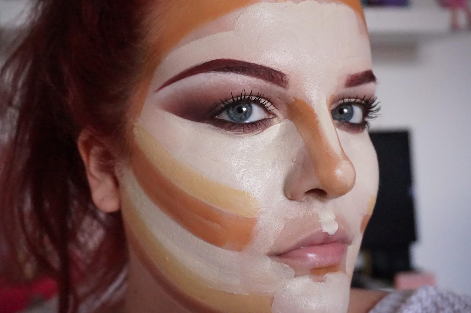 Kim kardashian makeup contouring products