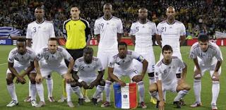 Jogadores da França e suas posições para a copa do mundo