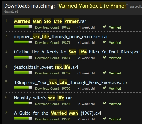 Married man sex primer