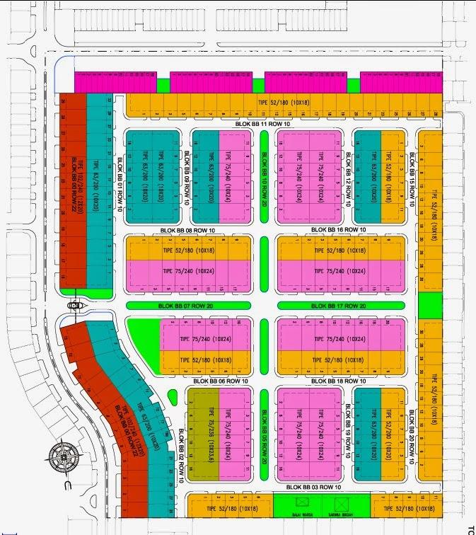 Site Plan Bukit Edelweis Citra Indah