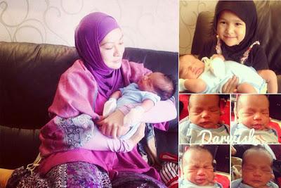 Abby Abadi, Lawat, Baby, Sulung, Memey Suhaiza, Norman Hakim, Artis Malaysia, Hiburan, Malaysia