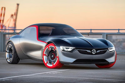 Vauxhall GT Concept (2016) Front Side