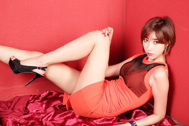 4 Yu Ji Ah - Studio Set - very cute asian girl-girlcute4u.blogspot.com