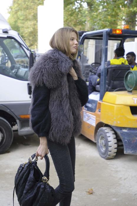 Fashion Model Magdalena Frackowiak
