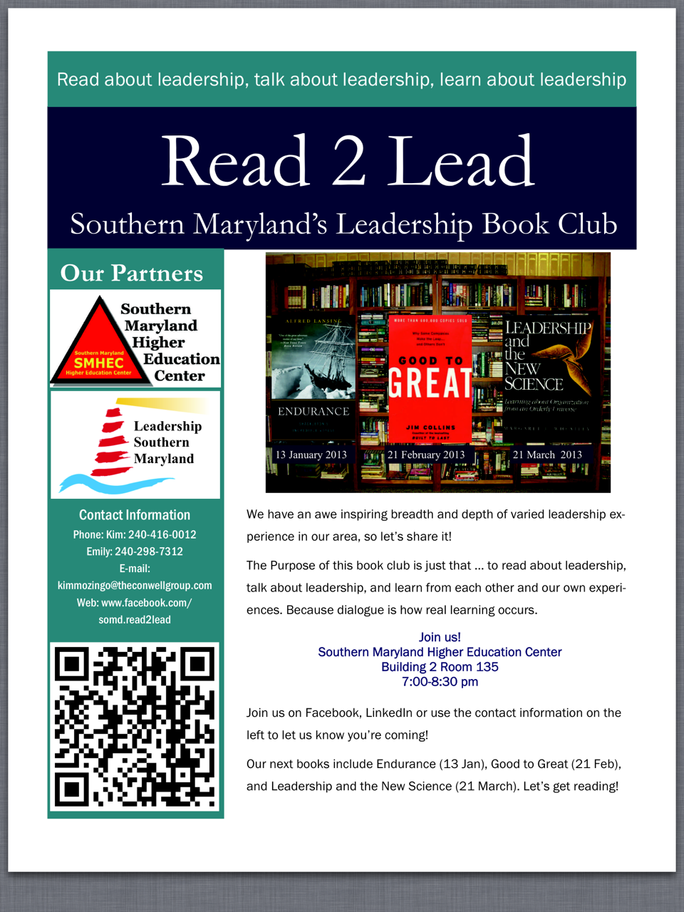 read to lead Read to lead: start with why by simon sinek3 years agoin read to lead read  to lead: personality plus by florence littauer3 years agoin read to lead.