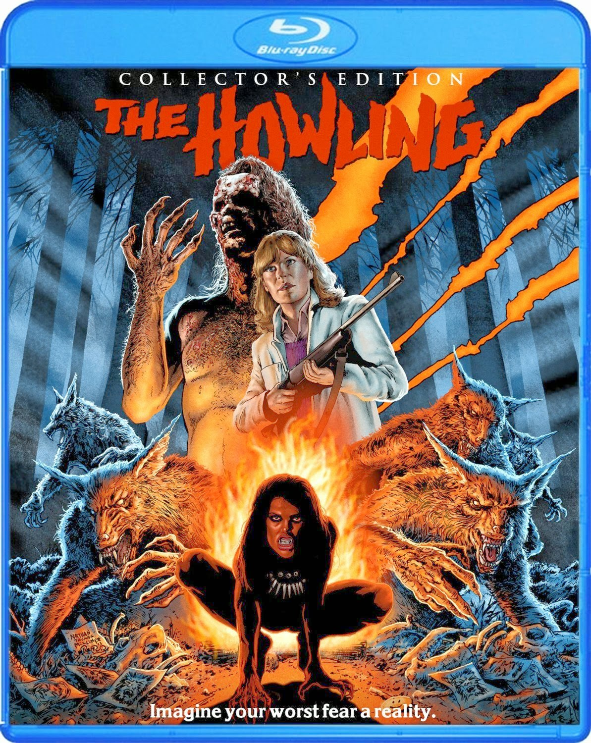 +18 The Howling (1981) – BRRip Dual Audio HINDI DUBBED