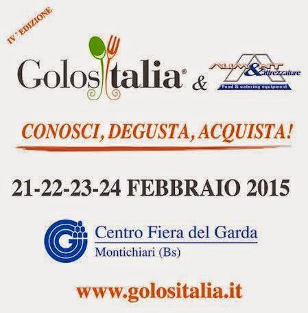 golositalia & aliment. dal 21 al 24 febbraio 2015 a montichiari (brescia)