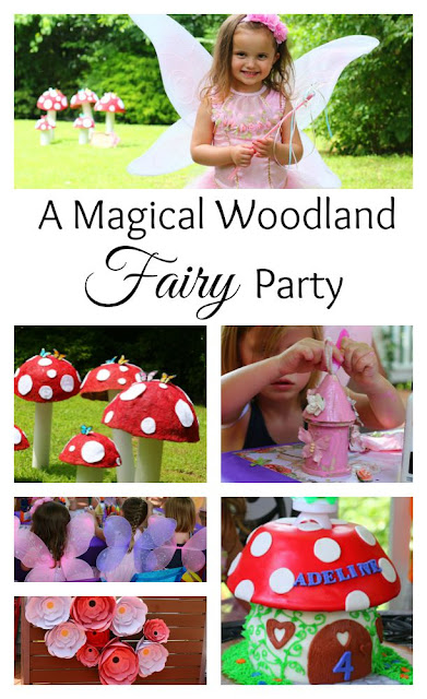Woodland Party, Fairy Party, Woodland Mushrooms
