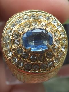 natural blue kyanite
