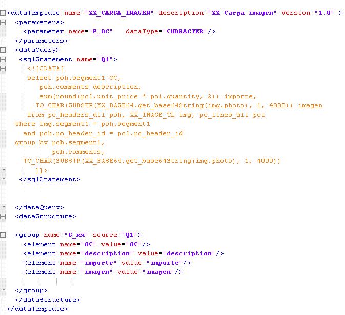 Compartiendo Tips de Oracle: Cargar imagenes por XML Publisher