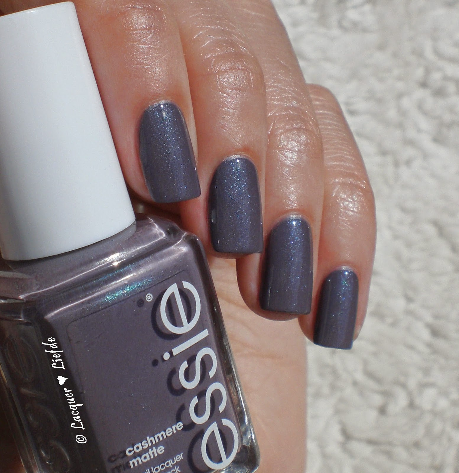 Essie Cashmere Matte Collection coat couture