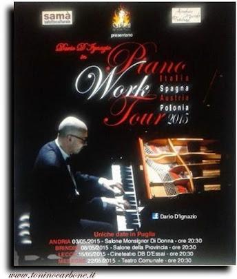 dario d'ignazio in piano work tour 2015