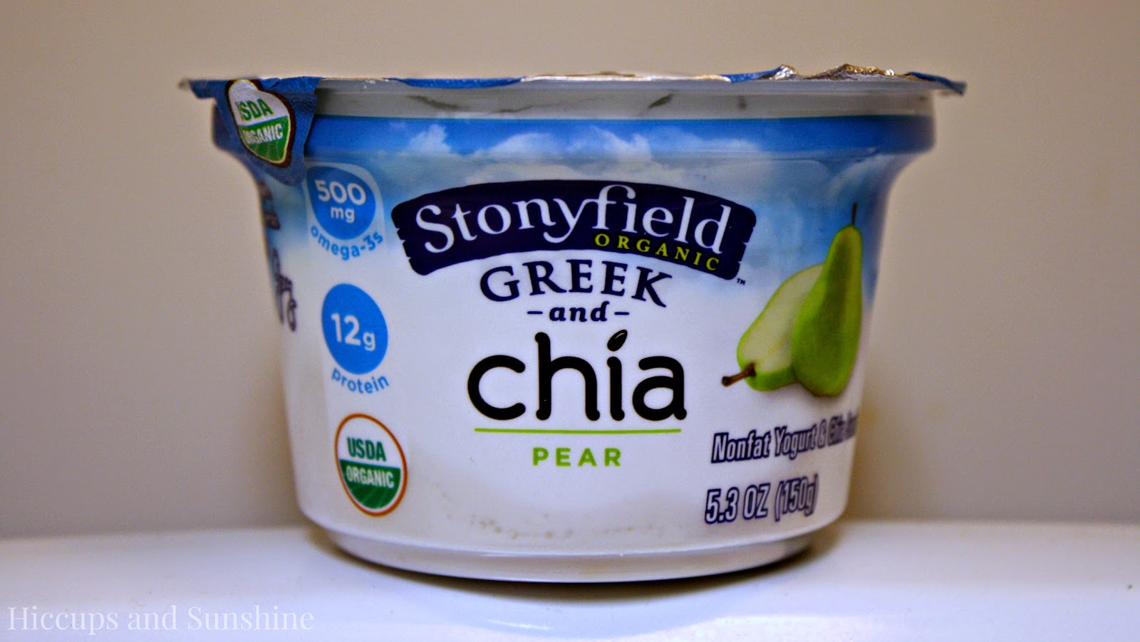 Stonyfield Greek and Chia