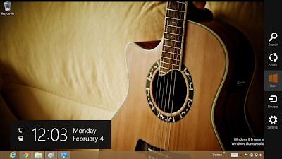 Acoustic Guitar Theme For Windows 8