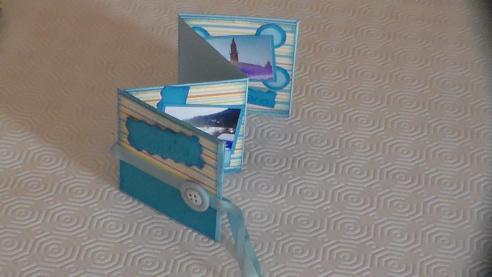 Famoso Week- ends CREAtivi: Scrapbooking - album a soffietto DG74