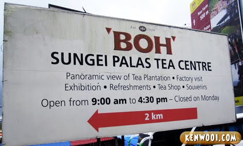 cameron highlands sungei palas tea centre