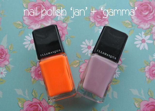 illamasqua mystery box swatch nail polish jan gamma