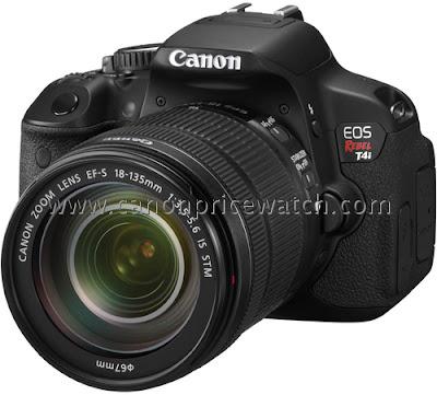 Fotografia in anteprima della Canon EOS 650D con lo zoom EF-S 18-135mm STM
