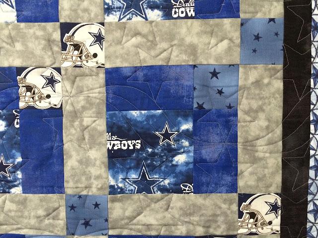 Carmen Danna's Dallas Cowboy Quilt