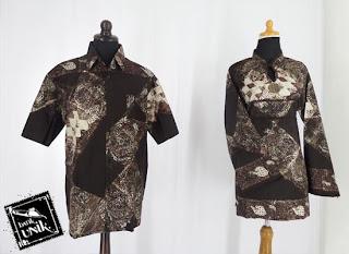 Baju Batik Sarimbit Hem-Blus