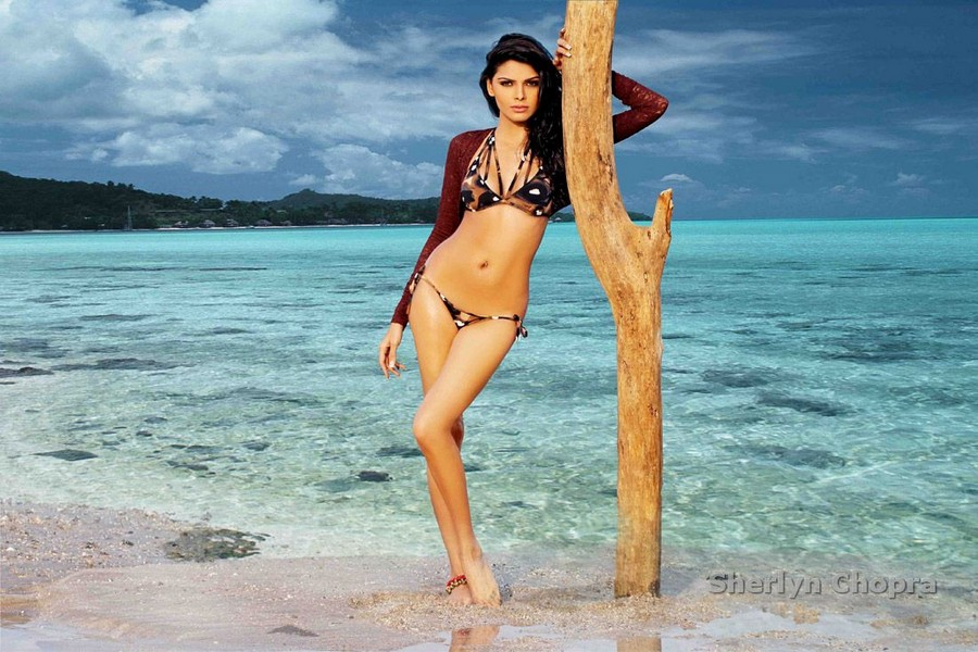 exotic hot sexy Sherlyn chopra naughty poses hot pics gallery