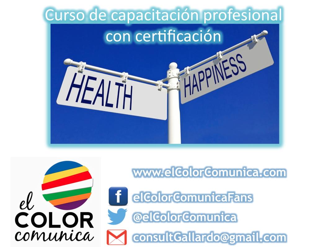 CURSO de Capacitación Profesional: Método El Color Comunica®