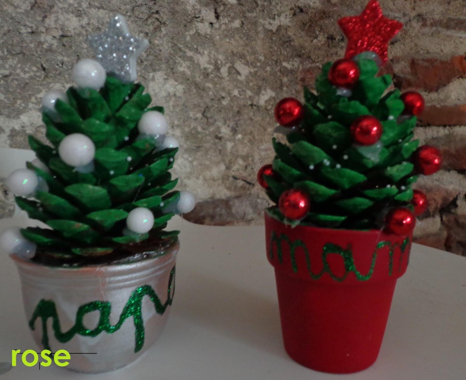 Atelier de christelle couronne de no l sapin en pomme de pin rennes du pere no l - A fleur de pot rennes ...