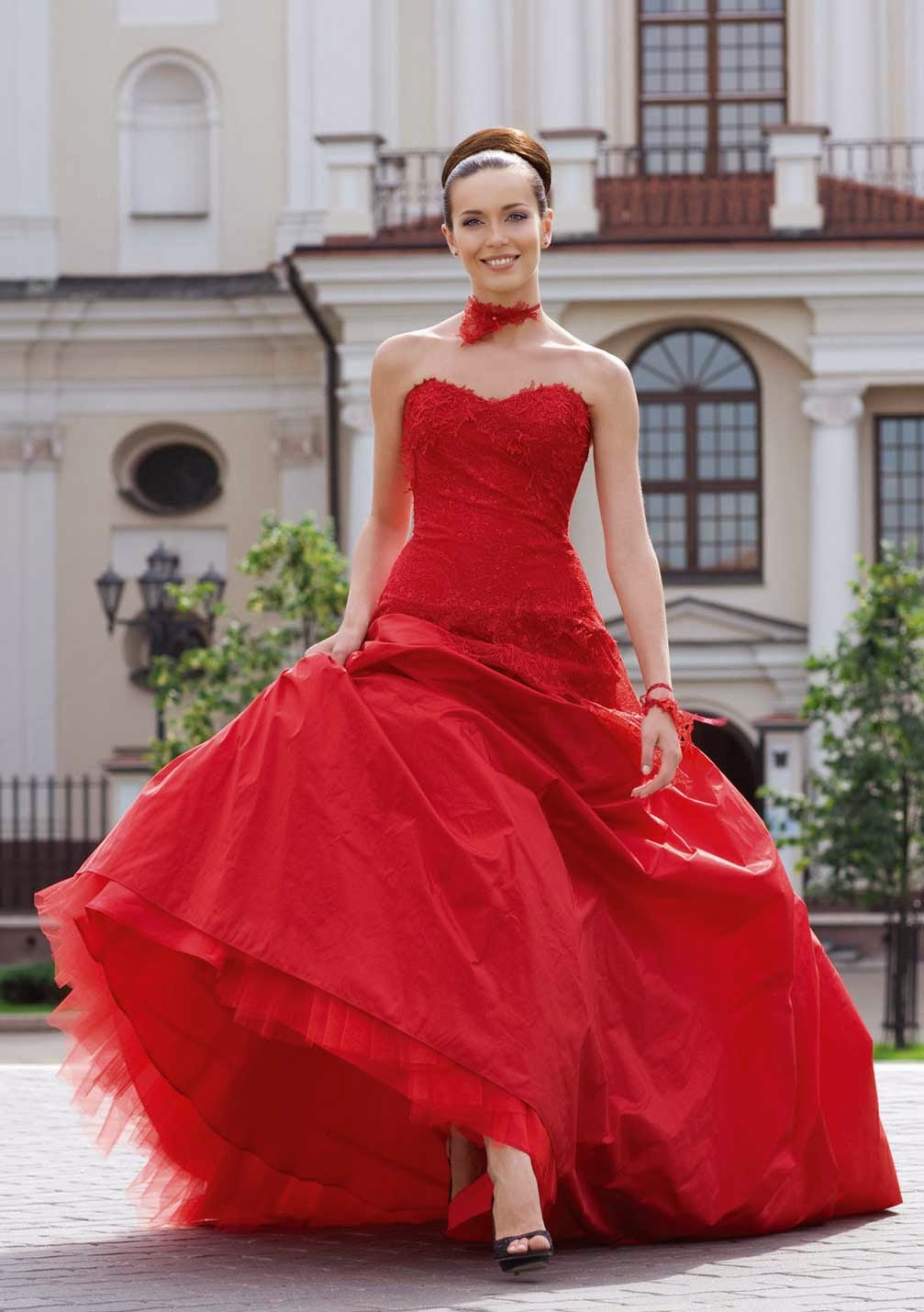 Red Wedding Dresses Style Images Design Ideas Photos HD