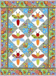Free pattern! Bugapalooza