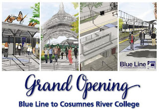 Regional Transit Rolling Out 'Blue Carpet' For Grand Opening of CRC Blue Line Station