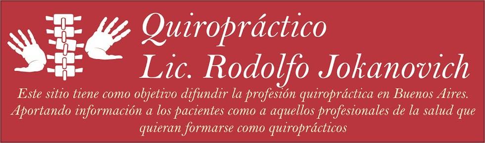 Quiropráctico Lic. Rodolfo Jokanovich