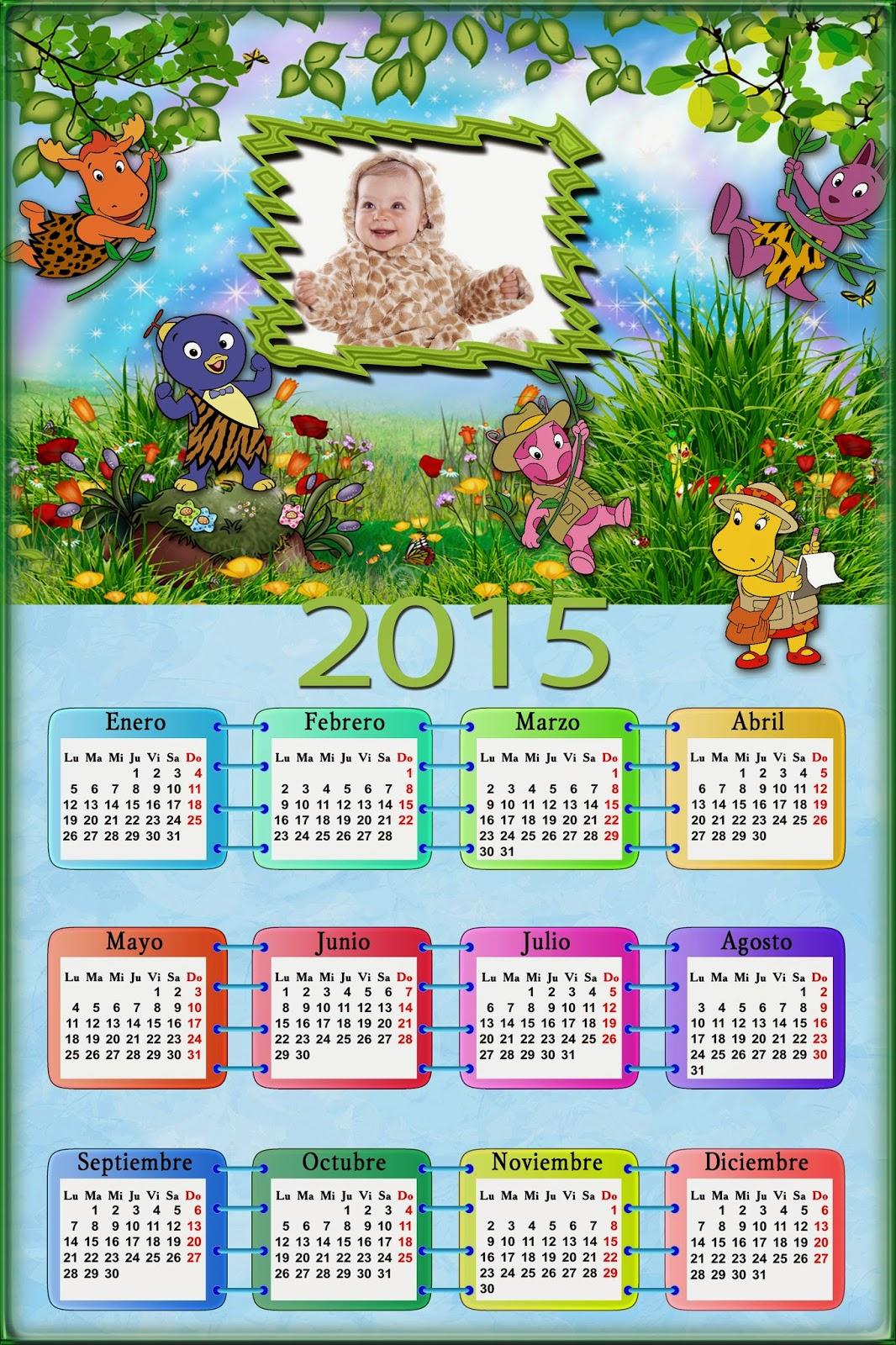Calendario para el 2015 de tus amigos del jardin para for Amigos del jardin