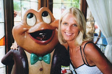 Me and my luvee Mr. Toad..., back in my younger days