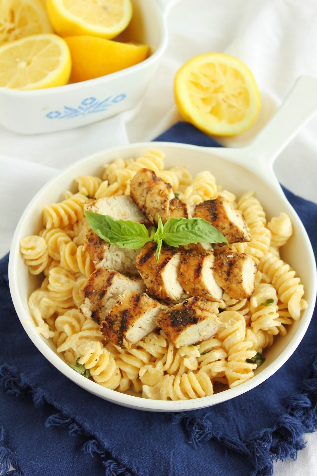 Grilled Chicken With Lemon Basil Pasta Recipes — Dishmaps