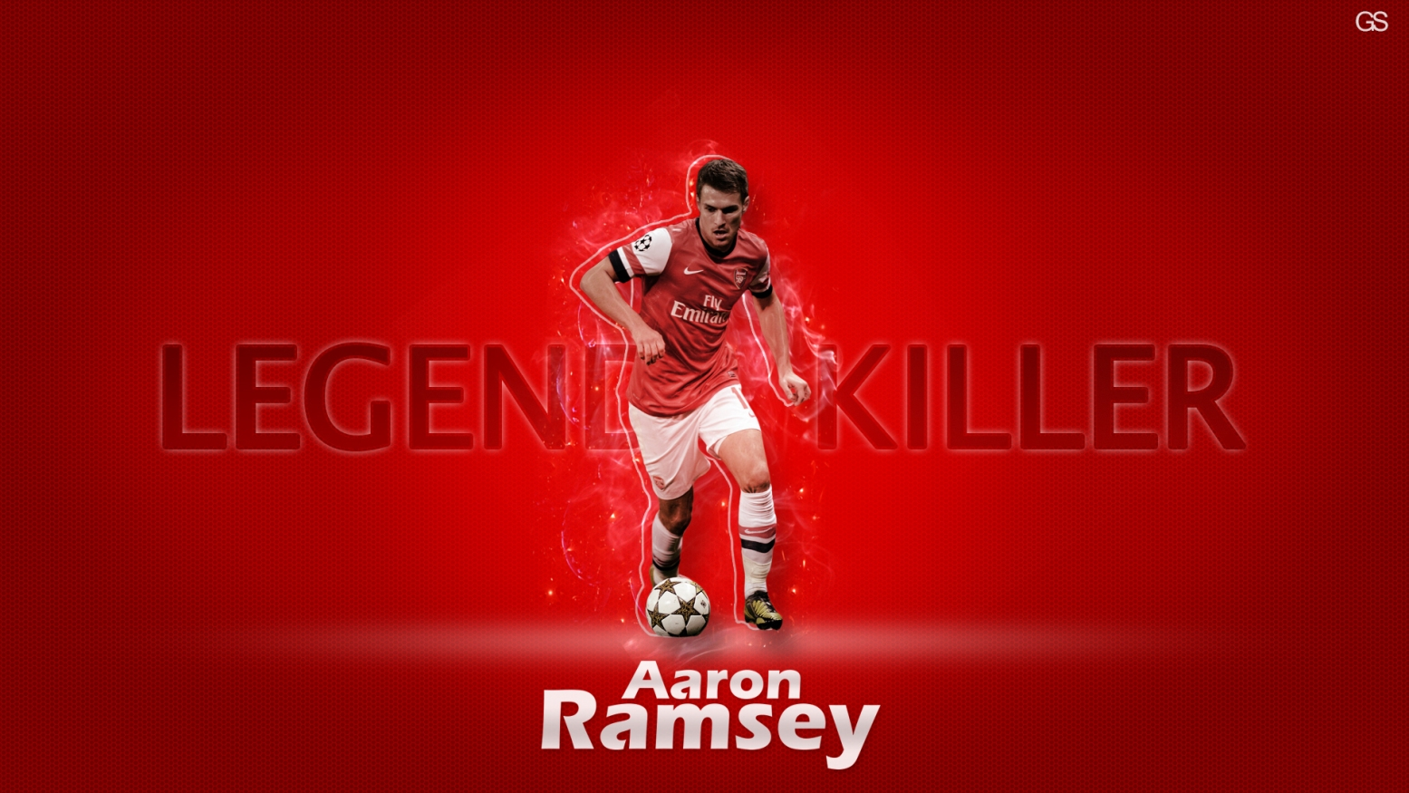 Aaron Ramsey HD Wallpaper