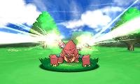 Volcanion Atacando